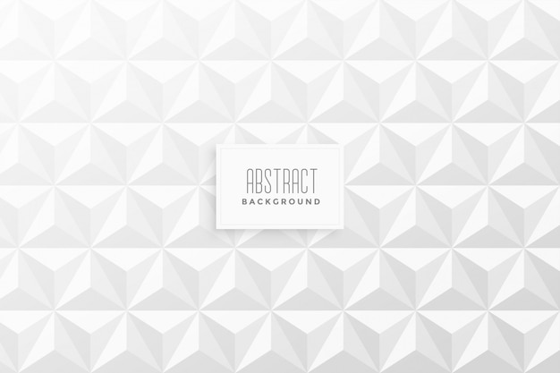 Abstrato 3d triângulo forma de fundo