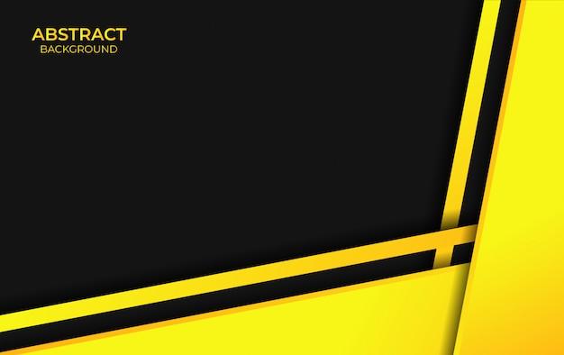 Abstrato amarelo e preto cor de fundo