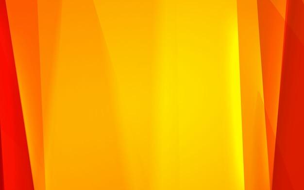 Abstrato amarelo e vermelho cor moderna