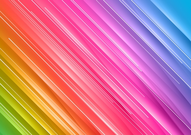 Abstrato arco-íris