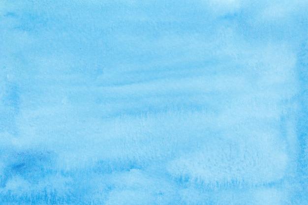 Abstrato azul aquarela. mão desenhado em aquarela textura