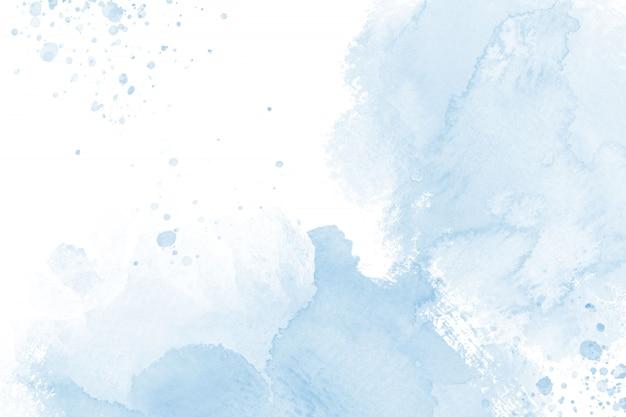 Abstrato azul aquarela