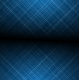 Abstrato azul brilhante linhas borradas de plano de fundo texturizado