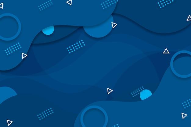 Abstrato azul clássico