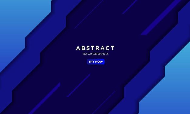 Abstrato azul com forma de seta e velocidade afetam e conceito de tecnologia moderna