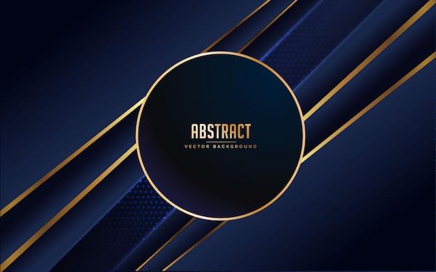 Abstrato azul e preto cor. minimal moderno