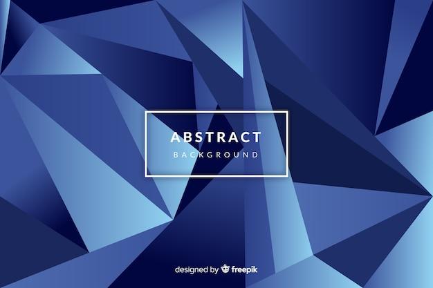 Abstrato azul futurista