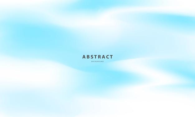 Abstrato azul gradiente conceito de ecologia