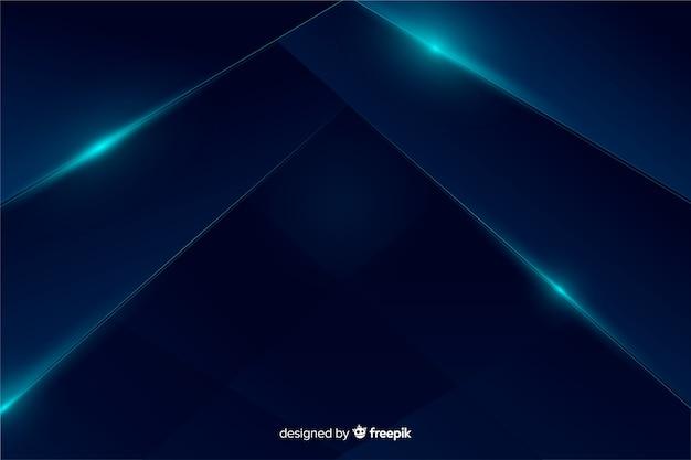 Abstrato azul metálico