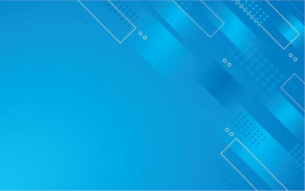 Abstrato azul quadrado cor de fundo