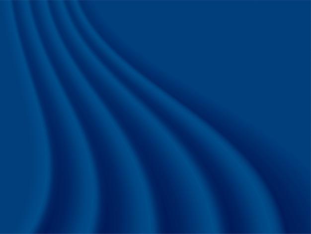 Abstrato azul vector clássico, cor do ano 2020