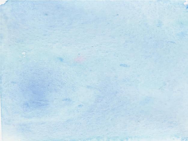 Abstrato base aquarela azul brilhante. é uma mão desenhada.