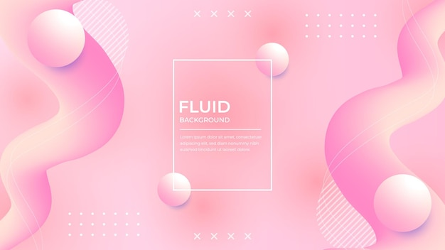 Abstrato base de formas fluidas da moda
