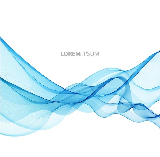 Abstrato base de linhas curvas. modelo de design