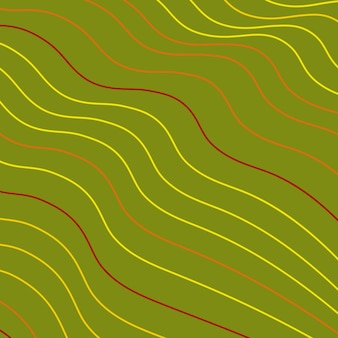 Abstrato base de linhas onduladas. ilustração vetorial.