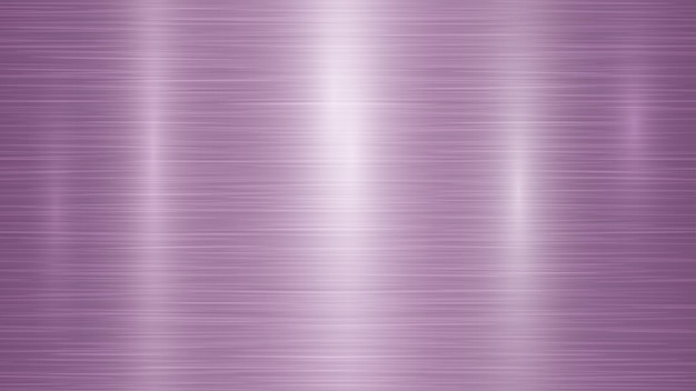 Abstrato base de metal com reflexos em cores roxas