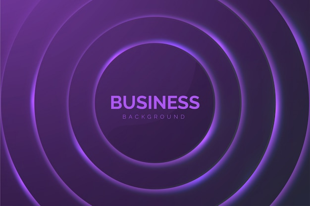 Abstrato base de negócios com círculos roxos