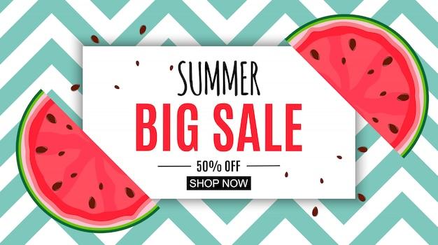 Abstrato base de venda de verão. ilustração