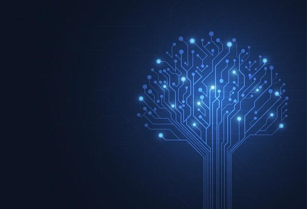Abstrato base digital com textura de placa de circuito de tecnologia. ilustração de placa-mãe eletrônica. conceito de comunicação e engenharia. ilustração vetorial