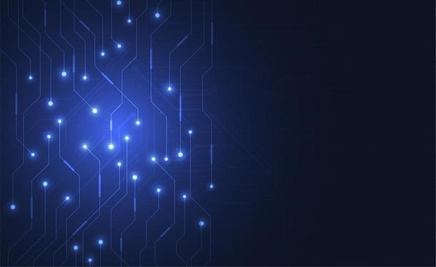 Abstrato base digital com textura de placa de circuito de tecnologia. placa-mãe eletronica