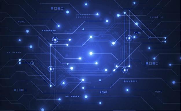 Abstrato base digital com textura de placa de circuito de tecnologia.