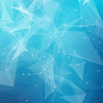 Abstrato base poli baixa tecnologia brilhante cinza. estrutura de conexão. fundo de ciência de dados. fundo poligonal. molécula e fundo de comunicação.