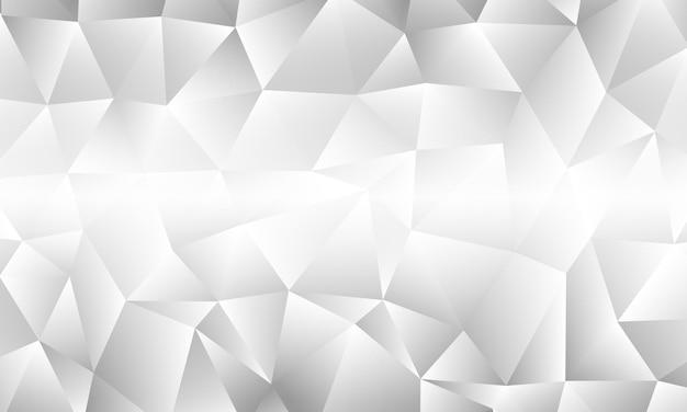 Abstrato base poligonal branco. ilustração vetorial. design elegante para papéis de parede.
