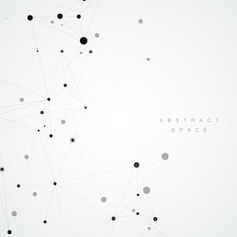 Abstrato base poligonal, estilo minimalista