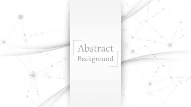 Abstrato branco cinza design moderno copyspace para seu texto