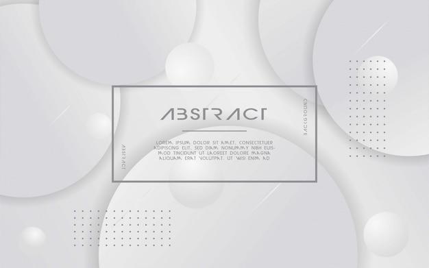 Abstrato branco e cinzento moderno.