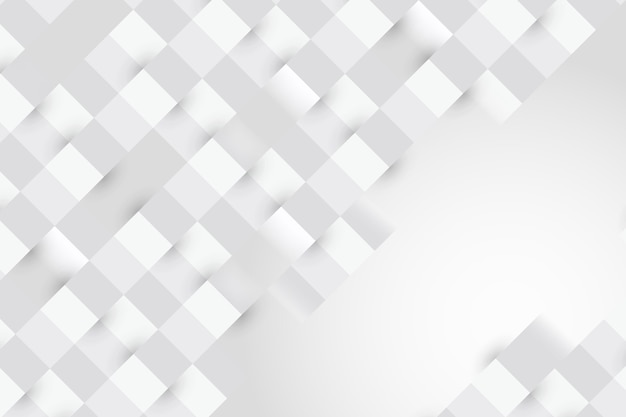 Abstrato branco em estilo 3d