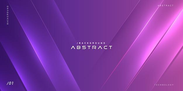 Abstrato brilhante vibrante futurista roxo