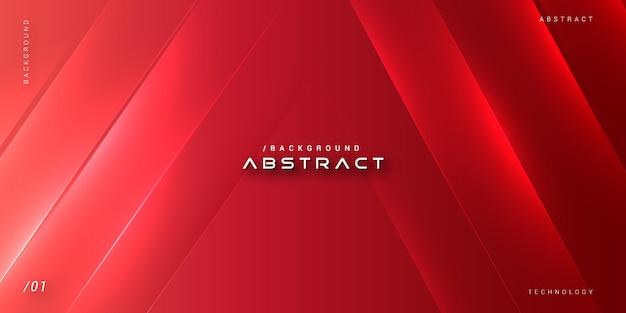 Abstrato brilhante vibrante futurista vermelho