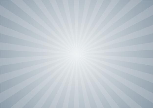 Abstrato cinza estilo cômico dos desenhos animados. ilustração do sol.