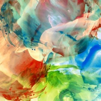 Abstrato, colorido, aquarela, fundo