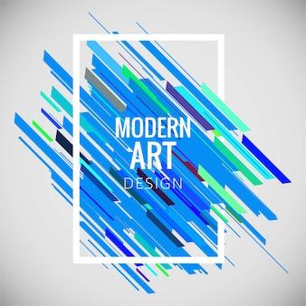 Abstrato colorido arte moderna de fundo