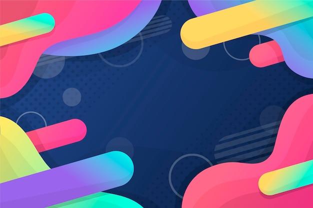 Abstrato colorido com espaço de cópia