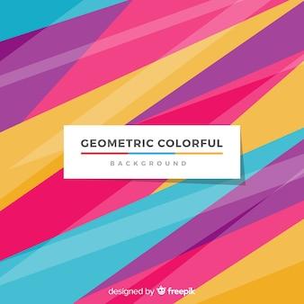 Abstrato colorido com estilo moderno