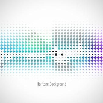 Abstrato colorido fundo de meio-tom