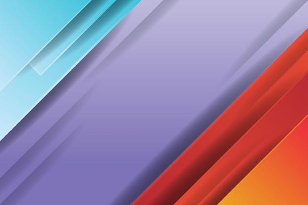 Abstrato colorido moderno