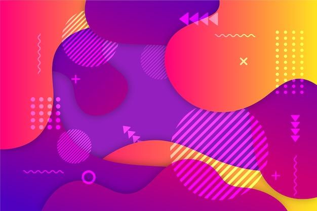 Abstrato colorido