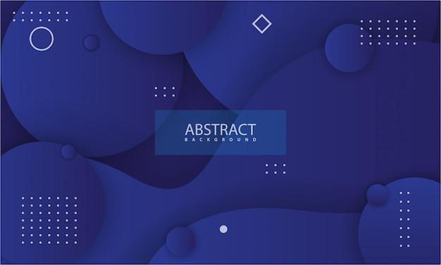 Abstrato com cor azul