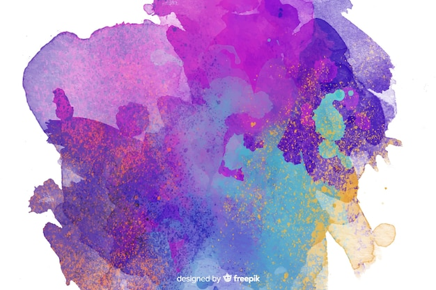 Abstrato com cores simples