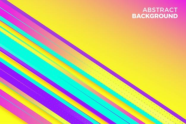 Abstrato com cores vibrantes e formas