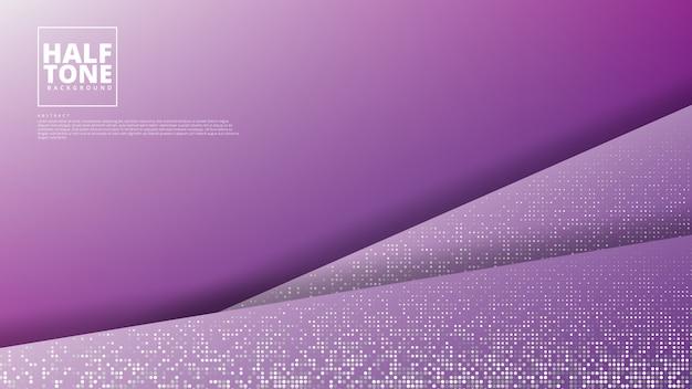 Abstrato com design de meio-tom.