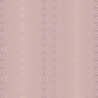 Abstrato com design de padrão ouro rosa