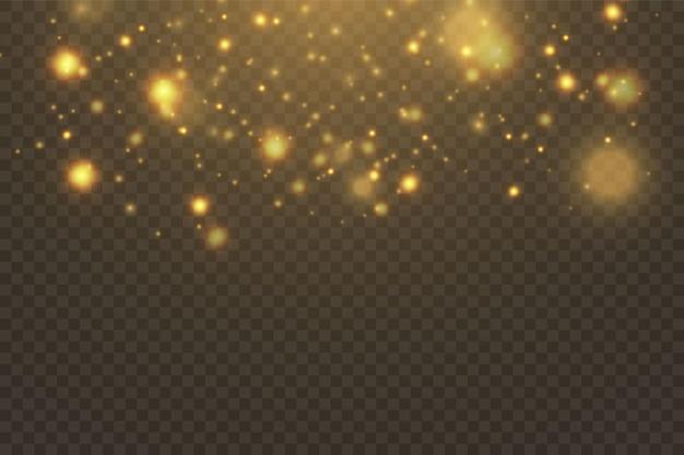 Abstrato com efeito bokeh. textura de fundo abstrato preto e branco ou prata glitter e elegante para o natal. poeira branca. partículas de poeira mágica cintilantes. conceito mágico.