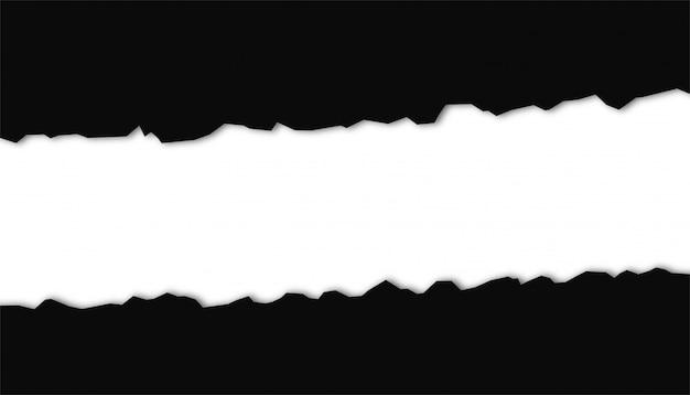 Abstrato com formas de corte de papel