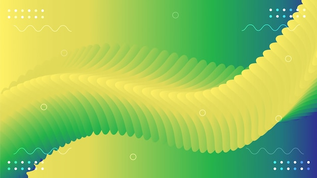 Abstrato com formas fluidas 3d vector 3d fluido vector forma abstrato