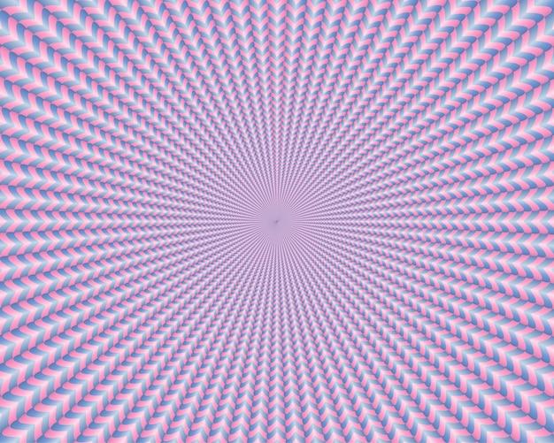 Abstrato com formas geométricas 3d